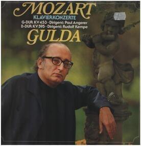 Wolfgang Amadeus Mozart - Klavierkonzerte, G-Dur KV453, B-Dur KV595,, Gulda