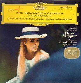 Wolfgang Amadeus Mozart - Klavierkonzerte, Piano Concertos KV 453, 467; Solist und Dirigent G. Anda