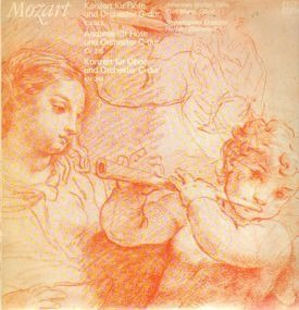 Wolfgang Amadeus Mozart - Konzert für Flöte und Orch g-dur,, Walter, Mahn, Staatskapelle Dresden, Blomstedt