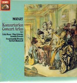 Wolfgang Amadeus Mozart - Konzertarien Vol1,, Staatskapelle Dresden, Blomstedt
