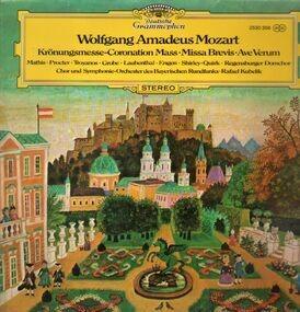 Wolfgang Amadeus Mozart - Krönungsmesse, Missa Brevis, Ave Verum,, Kubelik, Bayrischer Rundfunk