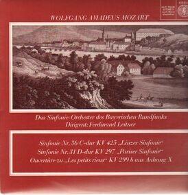 Wolfgang Amadeus Mozart - Linzer & Pariser & Ouvertüre zu Les petits riens,, Sinf-Orch des Bayrischen Rundfunks, Leitner