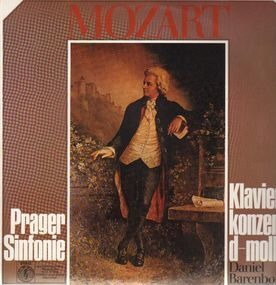 Wolfgang Amadeus Mozart - Prager Sinf, Klavierkonzert d-moll, Barenboim