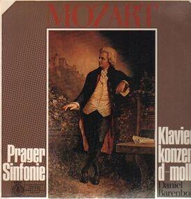 Wolfgang Amadeus Mozart - Prager Sinfonie, Klavierkonzert d-moll,, Barenboim