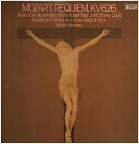 Wolfgang Amadeus Mozart - Requiem,, Academy of St. Martin-in-the-Fieldes & Chor, Mariner