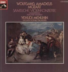 Wolfgang Amadeus Mozart - Sämtliche Violinkonzerte für 2 Violinen,, Y. Menuhin, Bath Festival Orch
