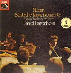 Wolfgang Amadeus Mozart - Sämtliche Klavierkonzerte (Daniel Barenboim)