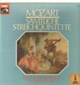 Wolfgang Amadeus Mozart - Sämtliche Streichquintette (Heutling-Quartett, Heinz-Otto Graf)