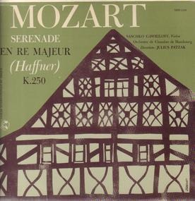 Wolfgang Amadeus Mozart - Serenade In D-Dur (Haffner) K.250