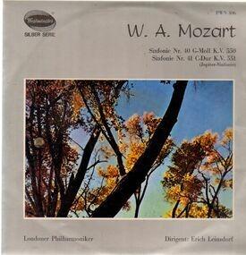 Wolfgang Amadeus Mozart - Sinfonien 40 & 41,, Londoner Philh, Leinsdorf