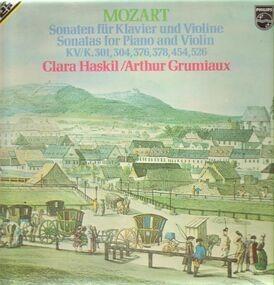 Wolfgang Amadeus Mozart - Sonaten für Klavier und Violine,, Clara Haskil, Arthur Grumiaux