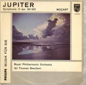 Wolfgang Amadeus Mozart - Jupiter-Symphonie C-dur KV 551,, Royal Philh Orch, Sir Th Beecham