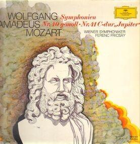 Wolfgang Amadeus Mozart - Symphonien Nr.40 & 41,, Wiener Symphoniker, Fricsay