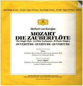 Wolfgang Amadeus Mozart - Zauberflöte,, Karajan, Berliner Philh
