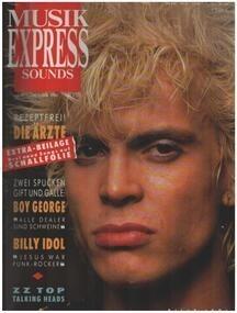 Billy Idol - 10/86 - Billy Idol