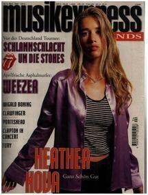 Musikexpress Sounds - 4/95 - Heather Nova