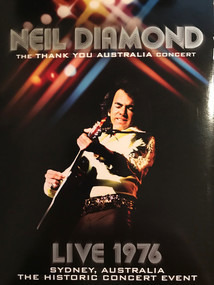 Neil Diamond - The Thank You Australia Concert - Live 1976 - Sydney, Australia - The Historic Concert Event