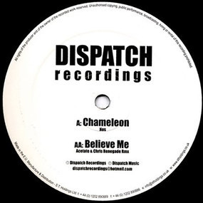 NOS - Chameleon / Believe Me (Acetate & Chris Renegade Rmx)