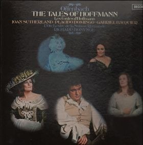 Jacques Offenbach - THE TALES OF HOFFMANN