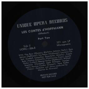 Jacques Offenbach - LES CONTES D'HOFFMANN