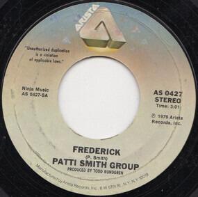 Patti Smith Group - Frederick