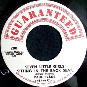 paul Evans - Seven Little Girls Sitting In The Back Seat / Worshipping An Idol
