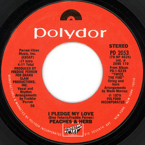 Peaches & Herb - I Pledge My Love / (I Want Us) Back Together