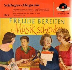 Peter Alexander - Schlager-Magazin - Folge 5