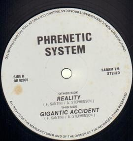 phrenetic system - Reality