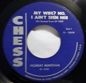 Pigmeat Markham - My Wife? No, I Ain't Seen Her (Part 1 / Part 2)