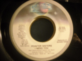 The Pointer Sisters - I Need You