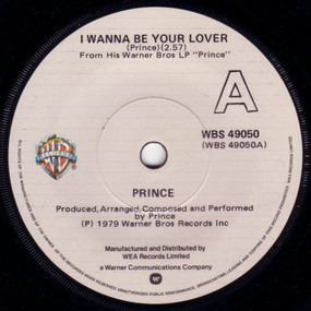 Prince - I Wanna Be Your Lover