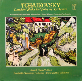 Pyotr Ilyich Tchaikovsky - Complete Works For Violin And Orchestra