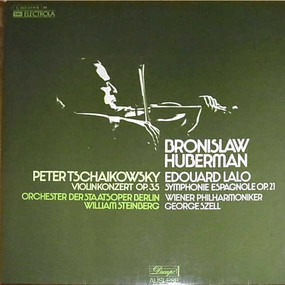 Pyotr Ilyich Tchaikovsky - Violinkonzert Op.35 / Symphonie Espagnole Op.21
