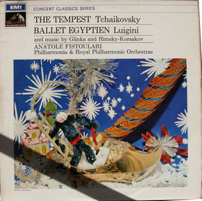Pyotr Ilyich Tchaikovsky - Tchaikovsky: The Tempest / Luigini: Ballet Egyptien