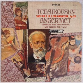 Pyotr Ilyich Tchaikovsky - Suite No. 3 In G For Orchestra, Op.55