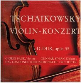 Pyotr Ilyich Tchaikovsky - Violin Konzert D- Dur, Opus 35