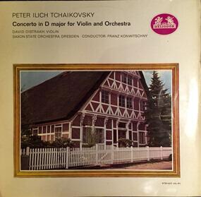 Pyotr Ilyich Tchaikovsky - Violin Concerto In D / Three Etudes-Caprices / Navarra