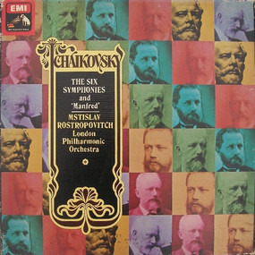Pyotr Ilyich Tchaikovsky - The Six Symphonies And 'Manfred'