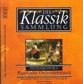 Pyotr Ilyich Tchaikovsky - Violinkoonzert / Streicherserenade