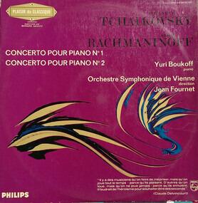 Pyotr Ilyich Tchaikovsky - Concerto Pour Piano No.1 / Concerto Pour Piano No.2