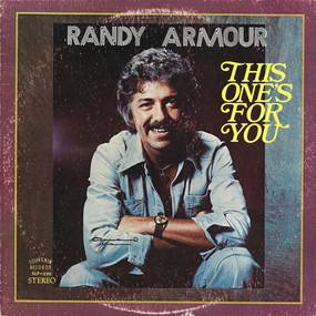 Randy Armour - This One's For You