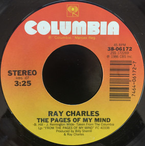 Ray Charles - The Pages Of My Mind / Slip Away