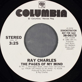 Ray Charles - The Pages Of My Mind