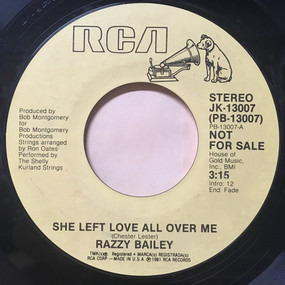 Razzy Bailey - She Left Love All Over Me