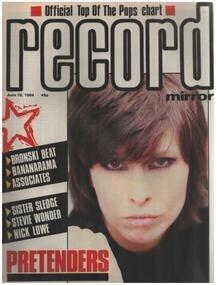 Record Mirror - JUN 16 / 1984 - Pretenders