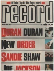 Record Mirror - MAY 5 / 1984 - Duran Duran