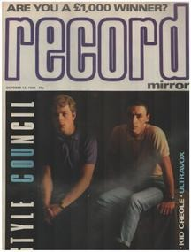 Record Mirror - OCT 13 / 1984 - Style Council