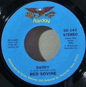 Red Sovine - Teddy Bear / Daddy