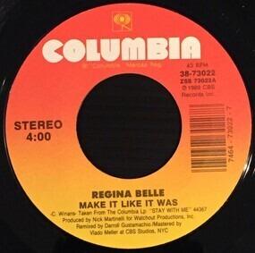 Regina Belle - Make It Like It Was